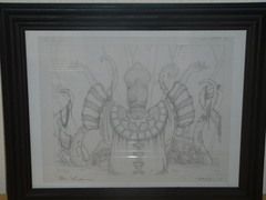 Patriarch's Bidding - Original Sketch