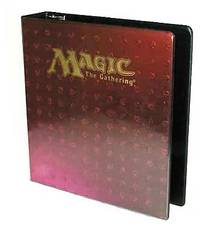 Red Mana Symbols 3-Ring Binder