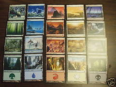 10th Edition Basic Land Set