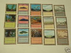 4th Edition Basic Land Set