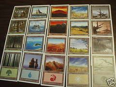 6th Edition Basic Land Set