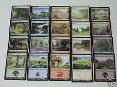 Lorwyn Basic Land Set