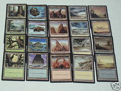 Tempest Basic Land Set