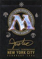 1996 Mark Justice World Champ Deck