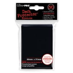 Ultra Pro Deck Protector - Black (50 ct)