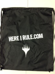 MTG Planeswalker Swag Bag - Here I Rule.com