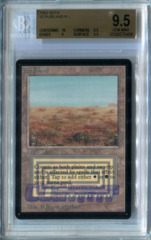 Scrubland #A (Beta) - Beckett Gem Mint 9.5