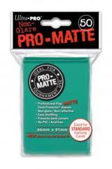 Ultra Pro Deck Protector - Pro-Matte Aqua (50 ct)