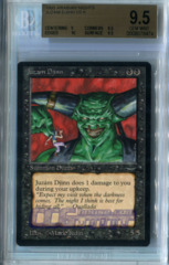 Juzam Djinn (Arabian Nights) - Beckett Gem Mint 9.5