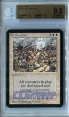 Wrath of God (Alpha) - Beckett Gem Mint 9.5
