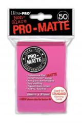 Ultra Pro Deck Protector - Pro-Matte Bright Pink (50 ct)