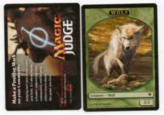 Token - Wolf (Innistrad Prerelease - Judge)