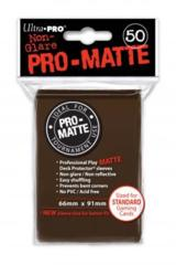 Ultra Pro Deck Protector - Pro-Matte Brown (50 ct)