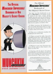 Munchkin: The Official Munchkin Impossible Bookmark of Her Majesty's Secret Circus