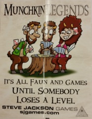 Munchkin Legends Promo Poster