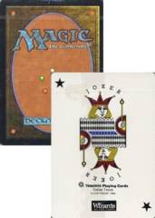 Yaquinto Magic the Gathering Poker Deck (Used)