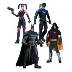 Robin, Harley Quinn, Batman & Nightwing collectibles
