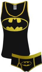 Batman glow tank with boy brief