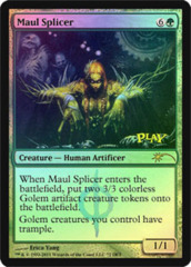 Maul Splicer (WPN Foil) on Channel Fireball