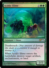 Acidic Slime (FNM Foil) on Channel Fireball