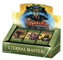 Eternal Masters Booster Box on Channel Fireball