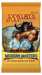 Modern Masters Booster Pack on Channel Fireball