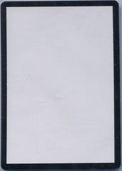Blank Card on Channel Fireball