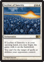 Leyline of Sanctity on Channel Fireball