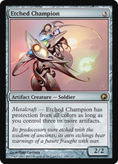 Etched Champion on Channel Fireball