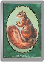 Squirrel on Channel Fireball