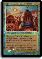 City of Brass (JSS Foil) on Channel Fireball