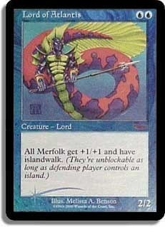 Lord of Atlantis (JSS Foil)