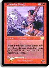 Balduvian Horde (Judge Foil) on Channel Fireball