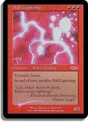 Ball Lightning (Judge Foil) on Channel Fireball