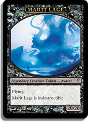 Marit Lage token (Coldsnap Release) on Channel Fireball
