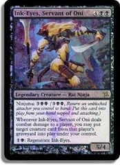 Ink-Eyes, Servant of Oni (Betrayers Prerelease) on Channel Fireball