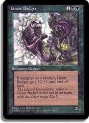 Giant Badger (Book Promo) on Channel Fireball