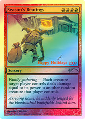 Season's Beatings (2009 Holiday Foil) on Channel Fireball