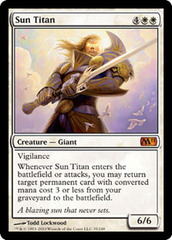 Sun Titan - Foil on Channel Fireball