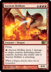 Ancient Hellkite - Foil on Channel Fireball