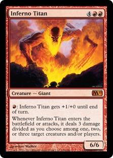 Inferno Titan - Foil