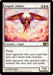 Angelic Arbiter - Foil on Channel Fireball