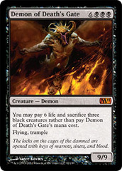 Demon of Death's Gate - Foil on Channel Fireball