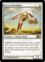 Serra Ascendant - Foil on Channel Fireball