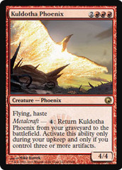 Kuldotha Phoenix - Foil on Channel Fireball
