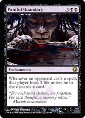 Painful Quandary - Foil on Channel Fireball