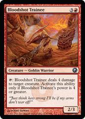 Bloodshot Trainee - Foil on Channel Fireball