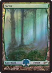 Forest - Extended Art (Judge Foil) on Channel Fireball