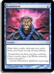 Brainstorm (Theme Deck Reprint) on Channel Fireball