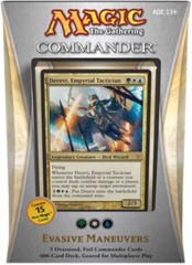 Commander 2013: Evasive Maneuvers (Green/White/Blue) on Channel Fireball